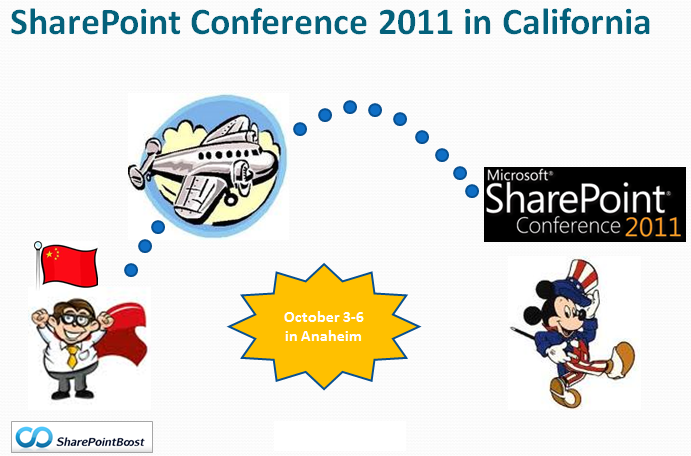 We will be at Microsoft SharePoint Conference 2011