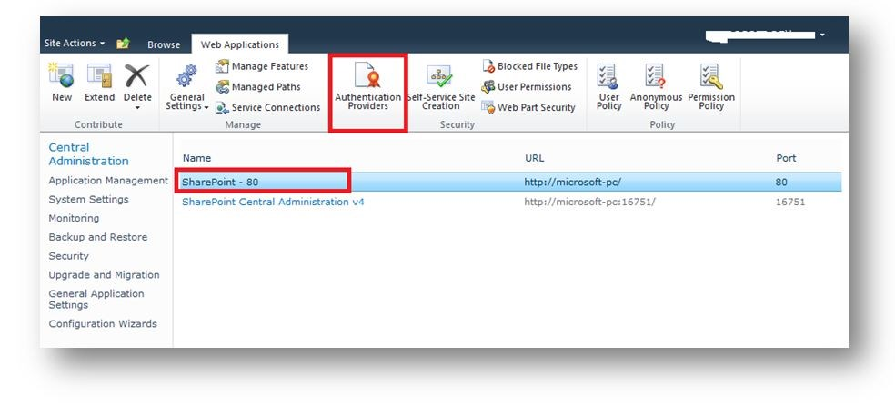 Enable Anonymous Access in SharePoint 2010