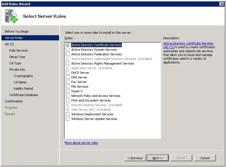 How to Configure SSL for a SharePoint Web Site