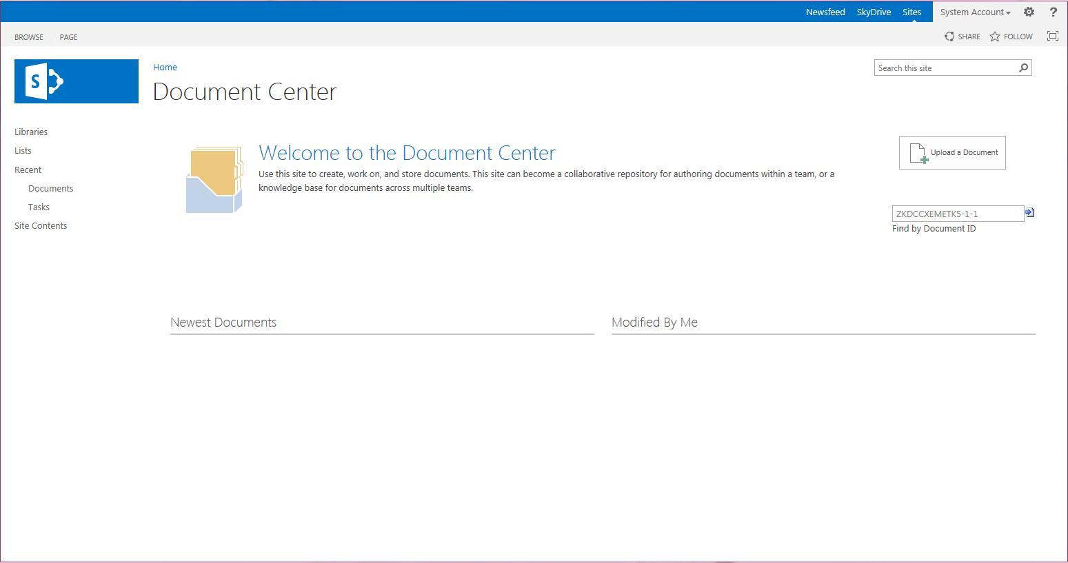 document center