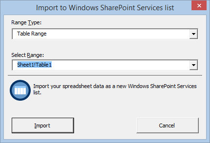 A comparison of Out-of-SharePoint and SharePoint Excel Import