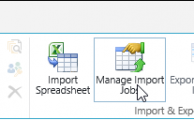 Update a SharePoint list from Excel